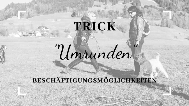 """Trick Objekte umrunden: """"Drumherum / Rum"""""""